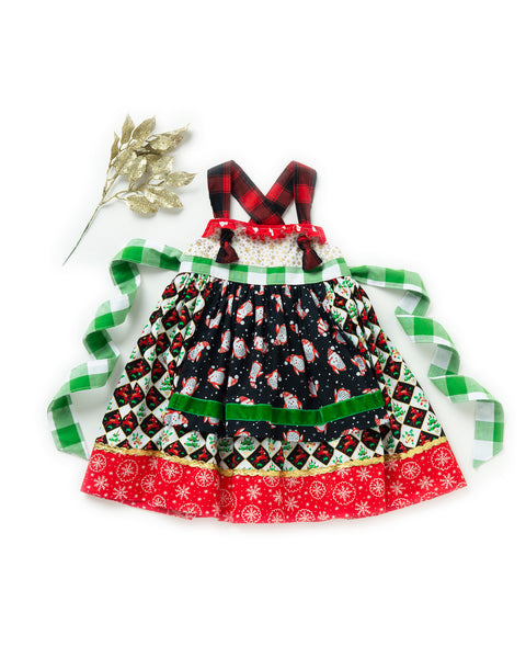 Jingle Bell Rock Smart Knot Dress