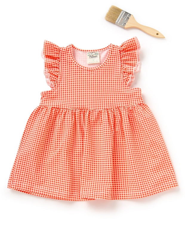 Gingham Maddy Top