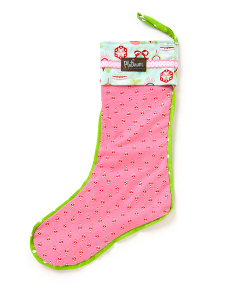 Candy Canes Stocking