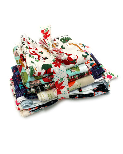 Holiday Fabric Scraps