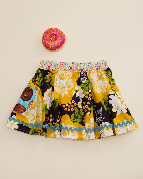 Donut Surprise Circle Skirt