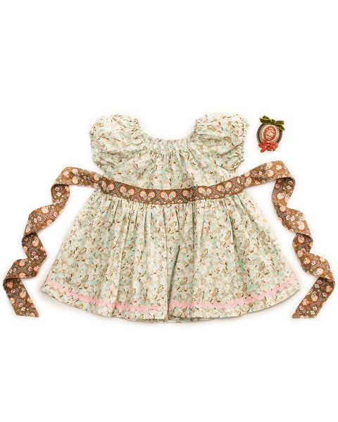 Pretty In Pastel Peasant Top