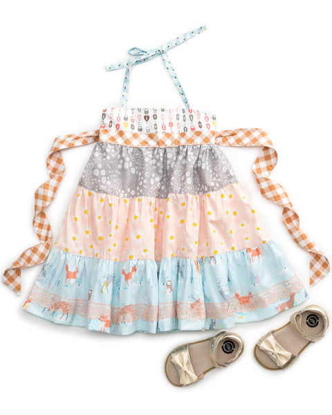 Lock and Key Tiered Ellie Dress