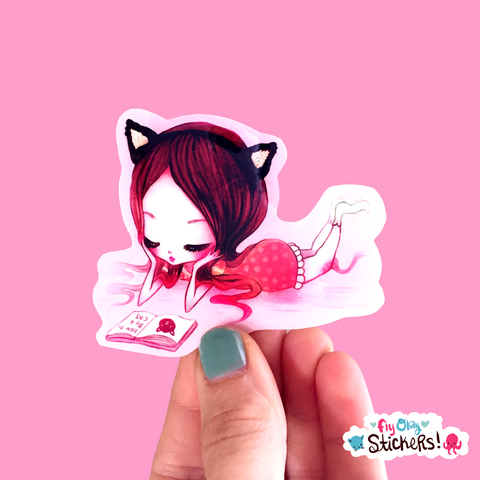 How to Be a Cat - Sticker