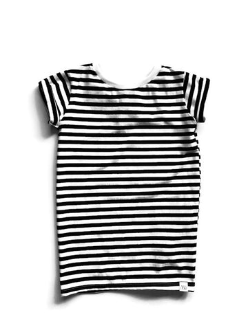 T-Shirt Dress - Stripes