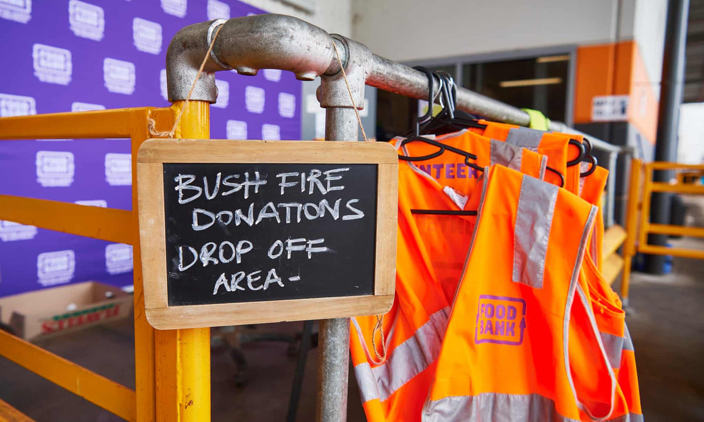 DONATE TO THE BUSH FIRE CRISIS on your next order