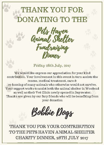 treat2save bobbie dogs donation