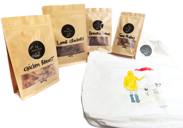 Dog Treat Christmas Hamper - Small Breed - All Natural Dog Treats Bobbie Dogs