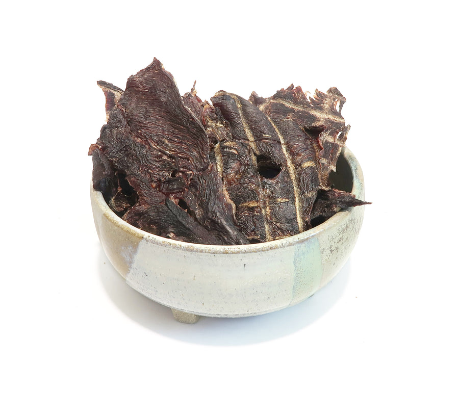 organic kangaroo jerky dog treats