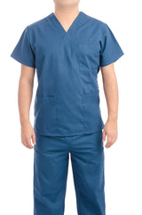 Caribbean Blue Medical Scrub Uniform Set - C.F.A Scrubs