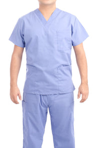 Ceil Blue Medical Scrub Uniform Set - C.F.A Scrubs