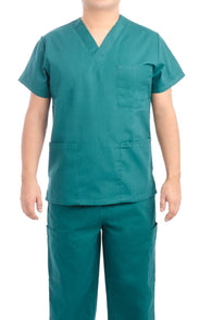 Hunter Green Medical Scrub Uniform Set - C.F.A Scrubs