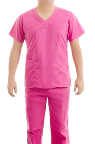 Pink Medical Scrub Uniform Set - C.F.A Scrubs