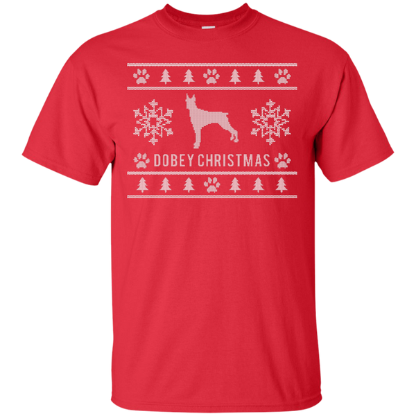 Dobey Christmas Ugly Christmas Sweater Design T-Shirt - BinXzay