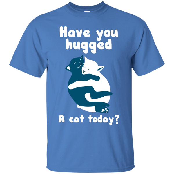 Have you Hugged a Cat Today T-Shirt - BinXzay