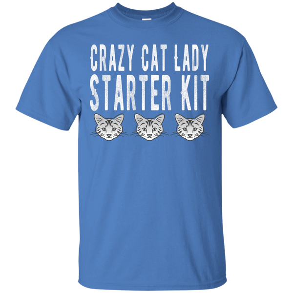 Crazy Cat Lady Starter Kit TShirt