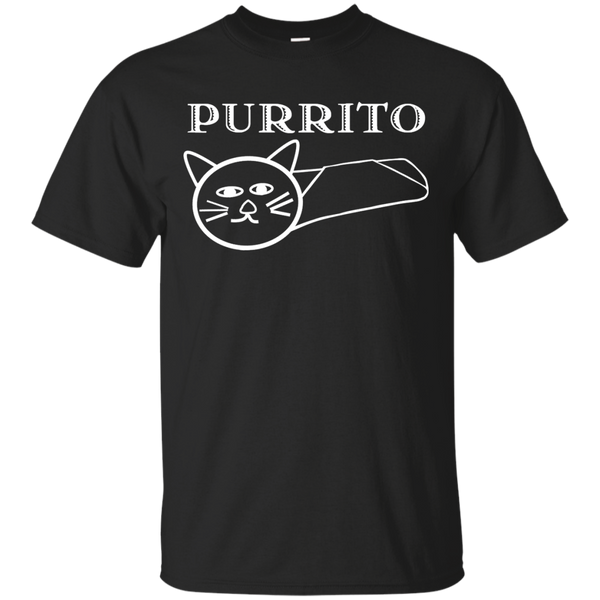 PURRITO Adult Short Sleeve T-shirt - BinXzay
