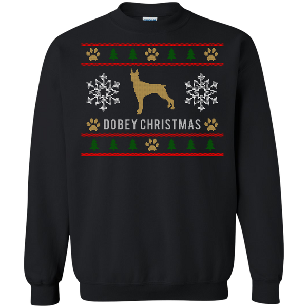 Dobey Ugly Christmas Sweater Color Design Long Sleeve Sweatshirt - BinXzay