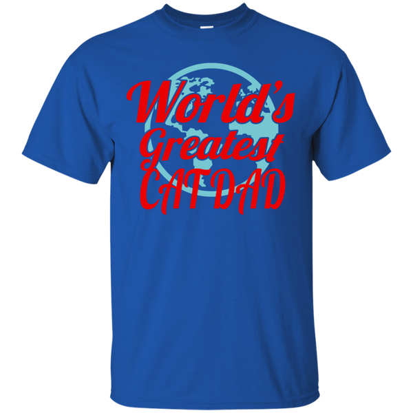 World's Greatest Cat Dad T-Shirt
