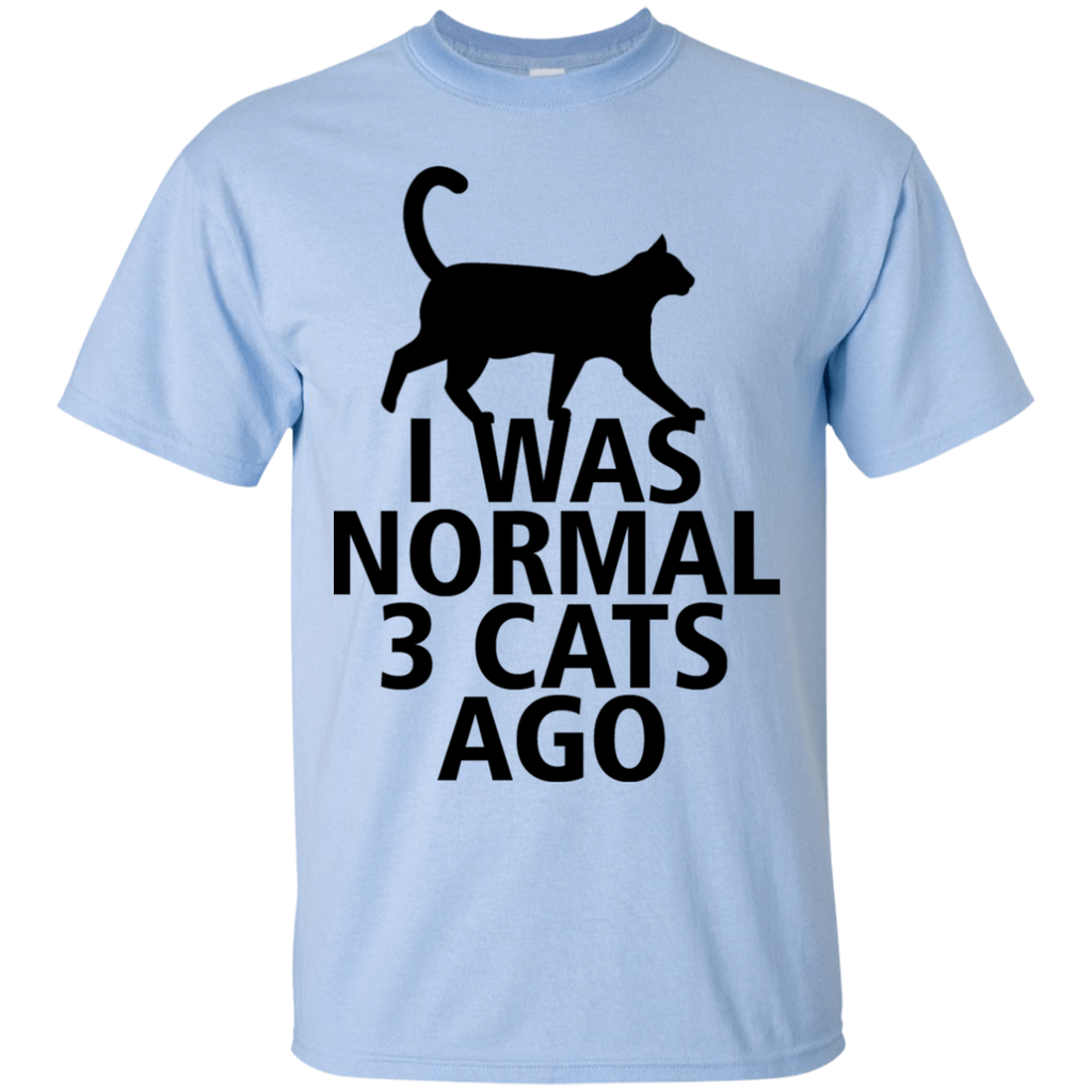 I Was Normal 3 Cats Ago Adult T-Shirt - BinXzay