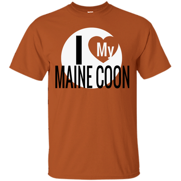 I Love My Maine Coon T-Shirt