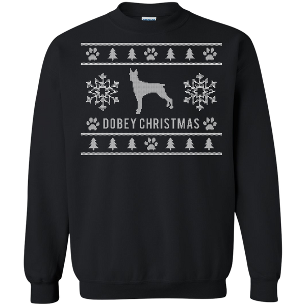 Dobey Christmas Ugly Christmas Sweater Design Pullover Sweatshirt - BinXzay