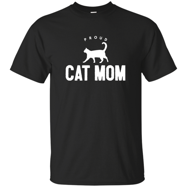Proud Cat Mom T-Shirt - BinXzay