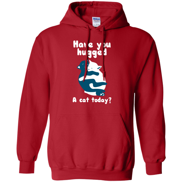 Have You Hugged a Cat Today Pullover Hoodie - BinXzay