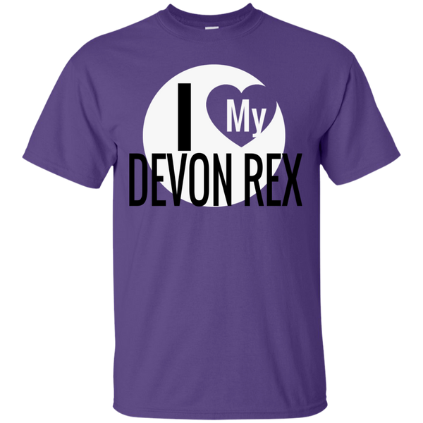 I Love My Devon Rex T-Shirt