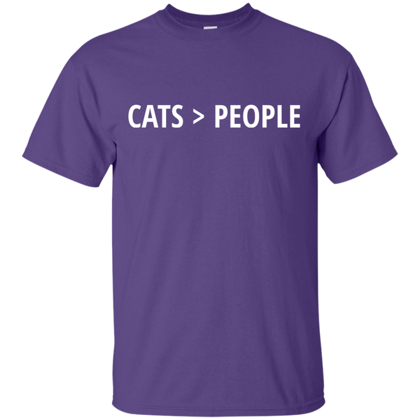 Cats > People Ultra Cotton T-Shirt - BinXzay