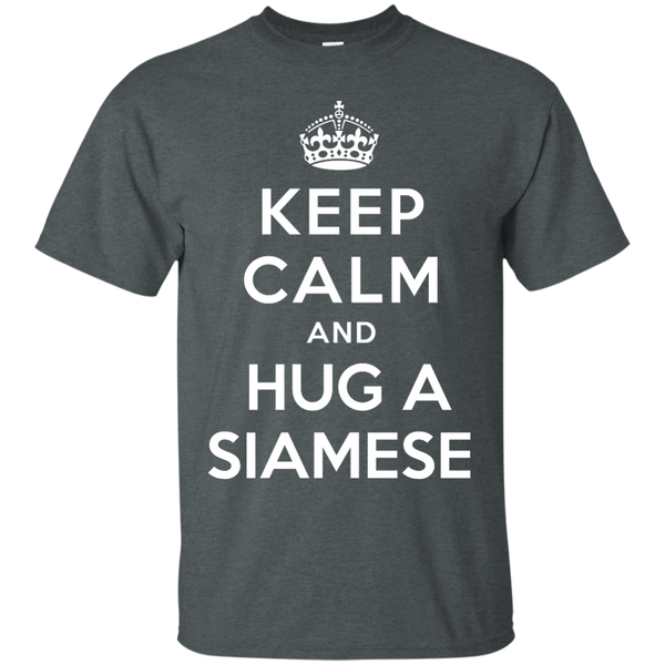 Keep Calm and Hug a Siamese T-Shirt - BinXzay