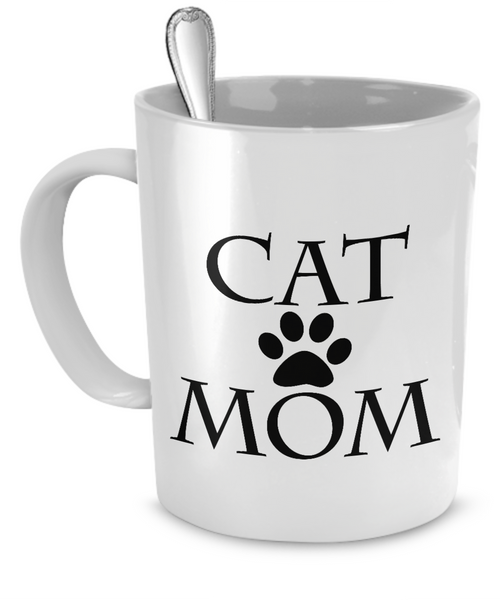 Cat Mom Coffee Mug - BinXzay