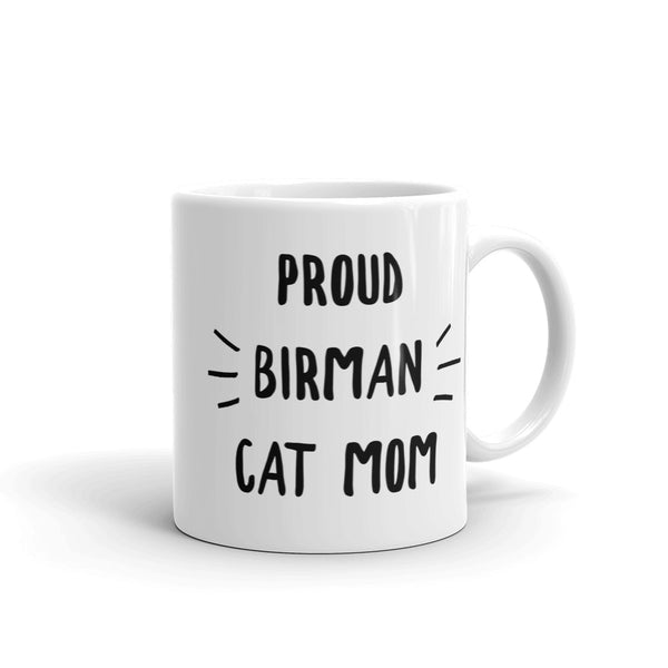 Birman Cat Lover Coffee Mug - BinXzay