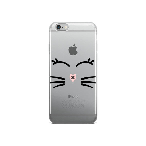 Whiskers and Lashes iPhone case - BinXzay