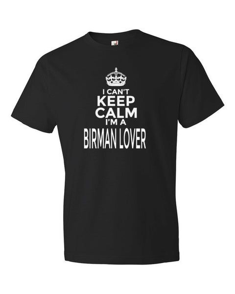 I Can't Keep Calm I'm a Birman Cat Lover Adult T-Shirt - BinXzay