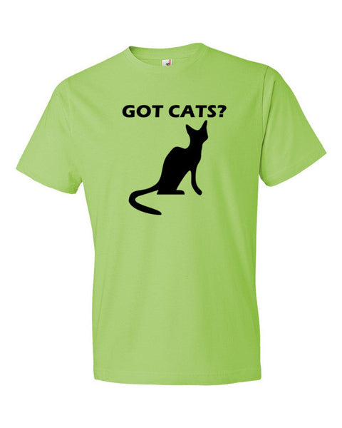 Got Cats Adult T-Shirt - BinXzay