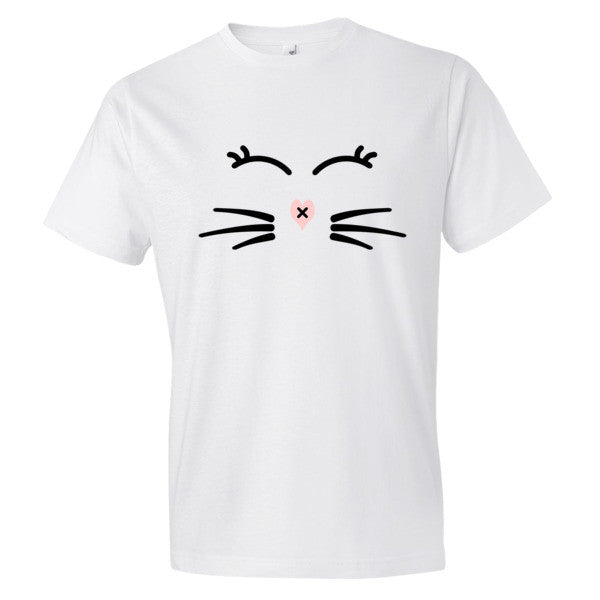 Whiskers and Lashes Adult T-Shirt - BinXzay