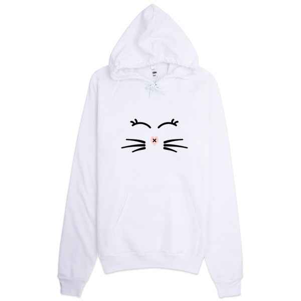 Whiskers and Lashes Hoodie - BinXzay