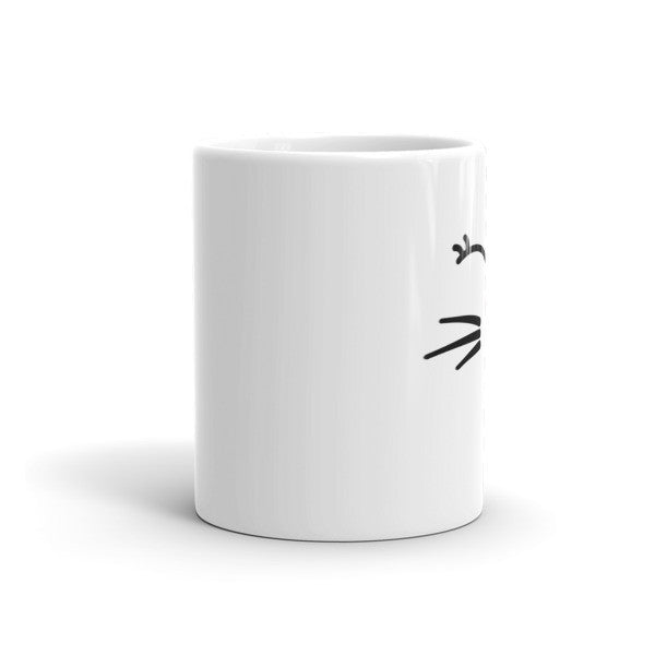 Whiskers and Lashes Coffee Mug - BinXzay