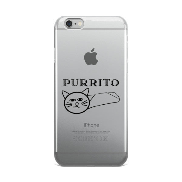 PURRITO iPhone case - BinXzay