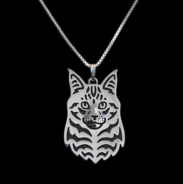 "Maine Coon 17"" Fashion Necklace"