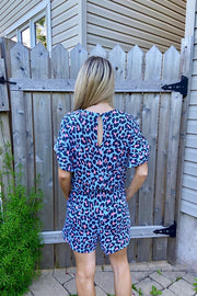 Romper Mint Leopard Love