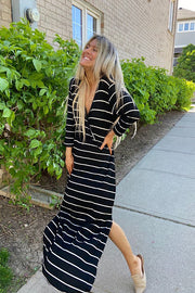 Pre Order Picnic With Me Striped Maxi Dress