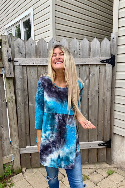 OMG Our First Tie Dye Babydoll