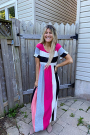 Candy Swirl Maxi Dress