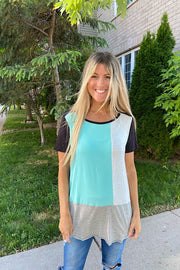 Weekend Explorer Colourblock Top