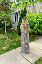 Animal Sweetness Maxi Dress