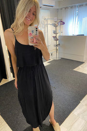 Little Black Spaghetti Strap Dress