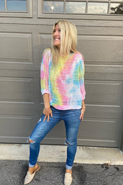 Super Cute Tie Dye Summer Pullover