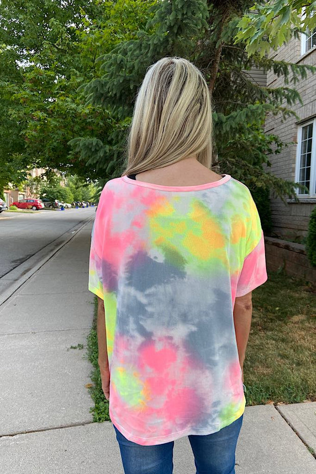 Buttery Soft Tie Dye Milkshake Top
